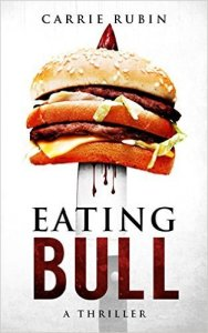 cover of book, Eating Bull