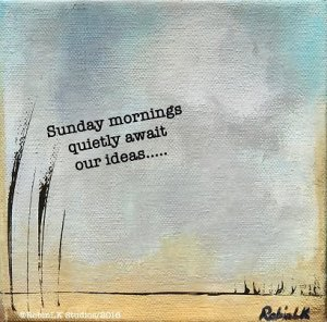 six-word story about sunday mornings