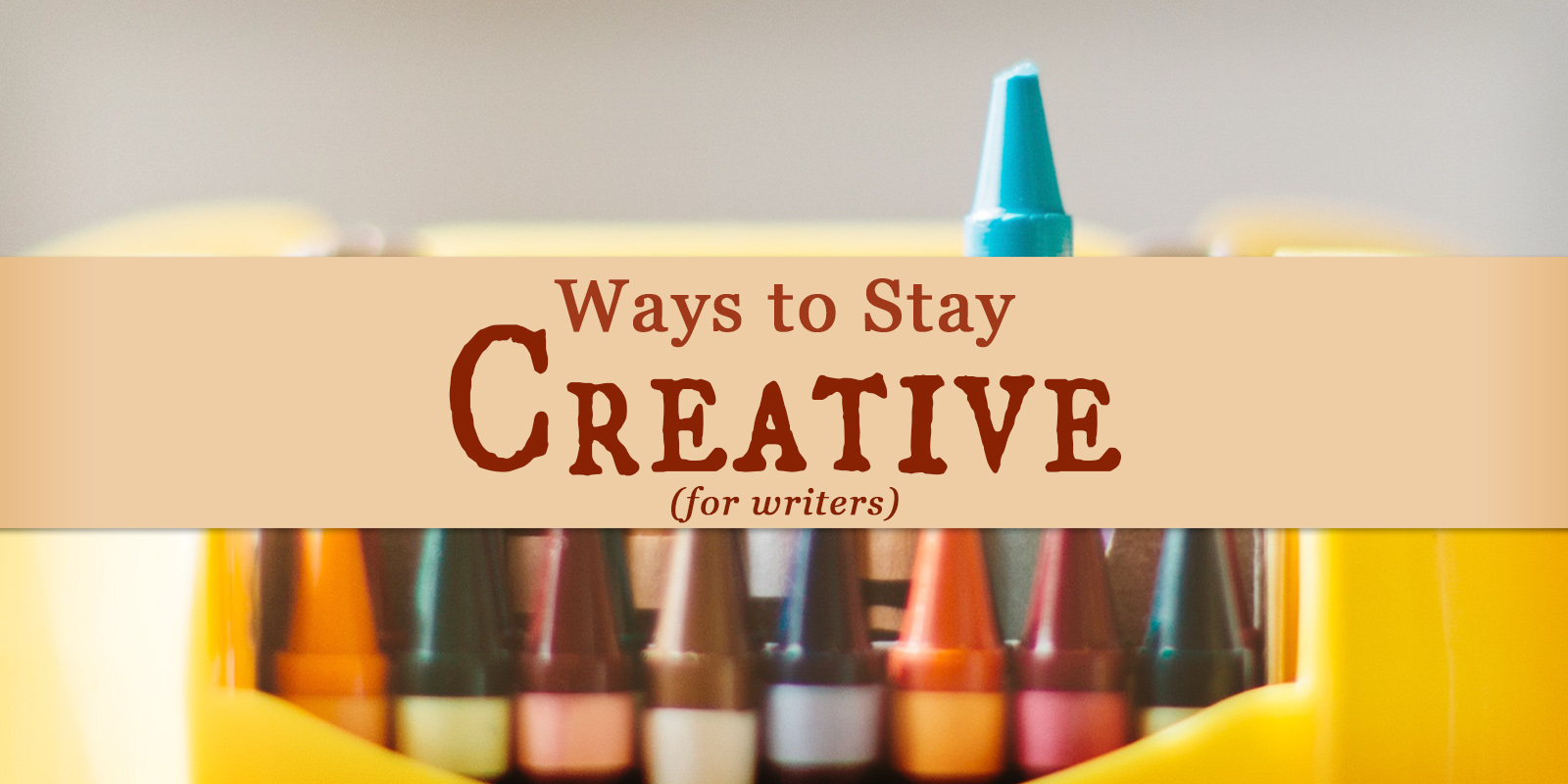 It's a challenge to stay creative. Are you looking for ways to recharge your batteries, and infuse yourself with renewed energy and zeal?