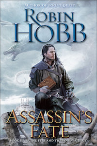 Cover Candy #08: The One with Dragons [Assassin's Fate, by Robin Hobb]