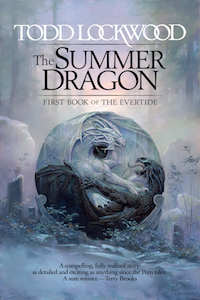 Cover Candy #08: The One with Dragons [The Summer Dragon, by Todd Lockwood]