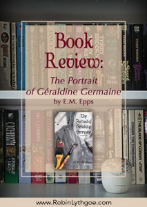 "Book Review: The Portrait of Geraldine Germaine, by E.M. Epps — A peek at the ""Look Inside"" convinced me to download this marvelous novelette. I danced through it last night and went to bed smiling."