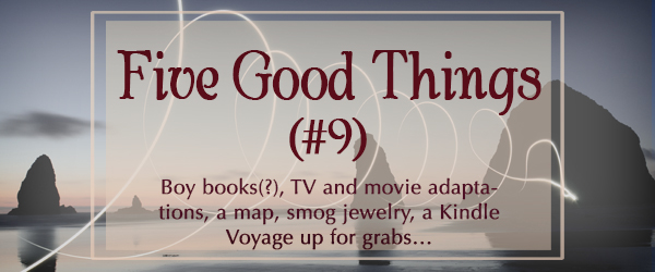 Five Good Things #9 (Recent Finds from the Ethersphere) from fantasy author Robin Lythgoe
