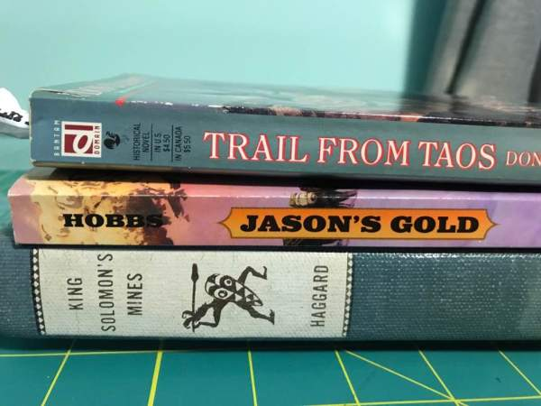 Book Spine Poetry—Easy Magic! Anyone with a collection of books can become an artist¦