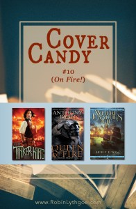 Cover Candy  #10: (On Fire!) It's a good thing cover candy isn't bad for my health, because I consume a lot of covers. With my eyes, that is! I look at covers of every genre, and I am always fascinated by the stories they tell. Do they match what's inside?