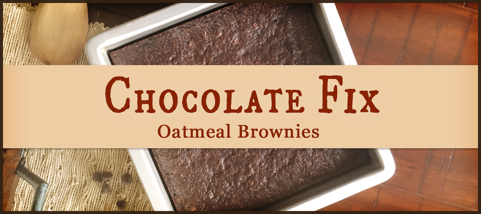 Brownies are a traditional go-to treat, and why not? One bowl, a few minutes of prep, and then the delicious and mouth-watering scent of chocolatey goodness baking in the oven. Break out the bowl and get your chocolate on with these Oatmeal Brownies!