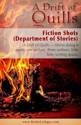 A Drift of Quills: Fiction Shots (Department of Stories) — We're doing it again: one picture, three authors, little bitty writing space. www.robinlythgoe.com