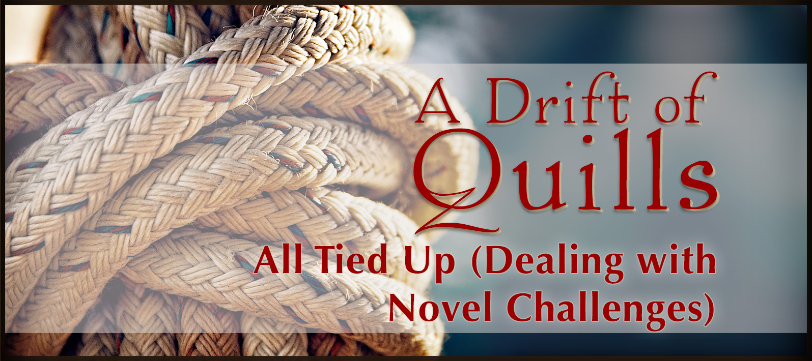 Dealing with novel challenges is nothing new for A Drift of Quills.Here's a day-in-thelife. What has been the biggest writing challenge with our current novel? (https://robinlythgoe.com)