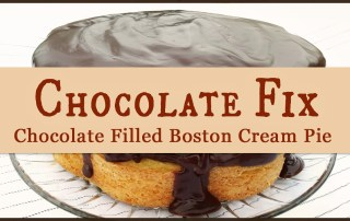 Chocolate Filled Boston Cream Pie is a cake. Ha! It's definitely one of my favorites, but why is it called a pie?? I looked it up. Read on to see what I found out! www.robinlythgoe.com