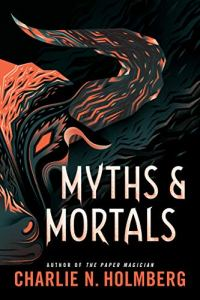 """Myths and Mortals"" picks up where the previous book left off, only the opposition has his eye on a new, dangerous target. www.robinlythgoe.com"