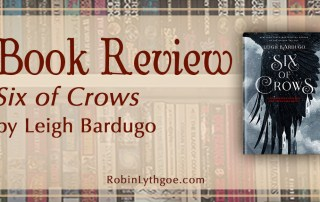 """""""Six of Crows,"""" by Leigh Bardugo, is one of those rare books that keeps you turning pages. Rich and dark, the story is full of moral dilemmas, magic, and clever twists. [www.robinlythgoe.com]"""