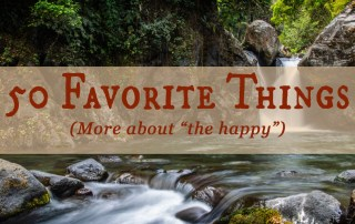 What are some of your favorite things? The idea of thinking good thoughts to lift one's mood is not new information, but we often need reminders. Let me remind you now… [www.robinlythgoe.com]