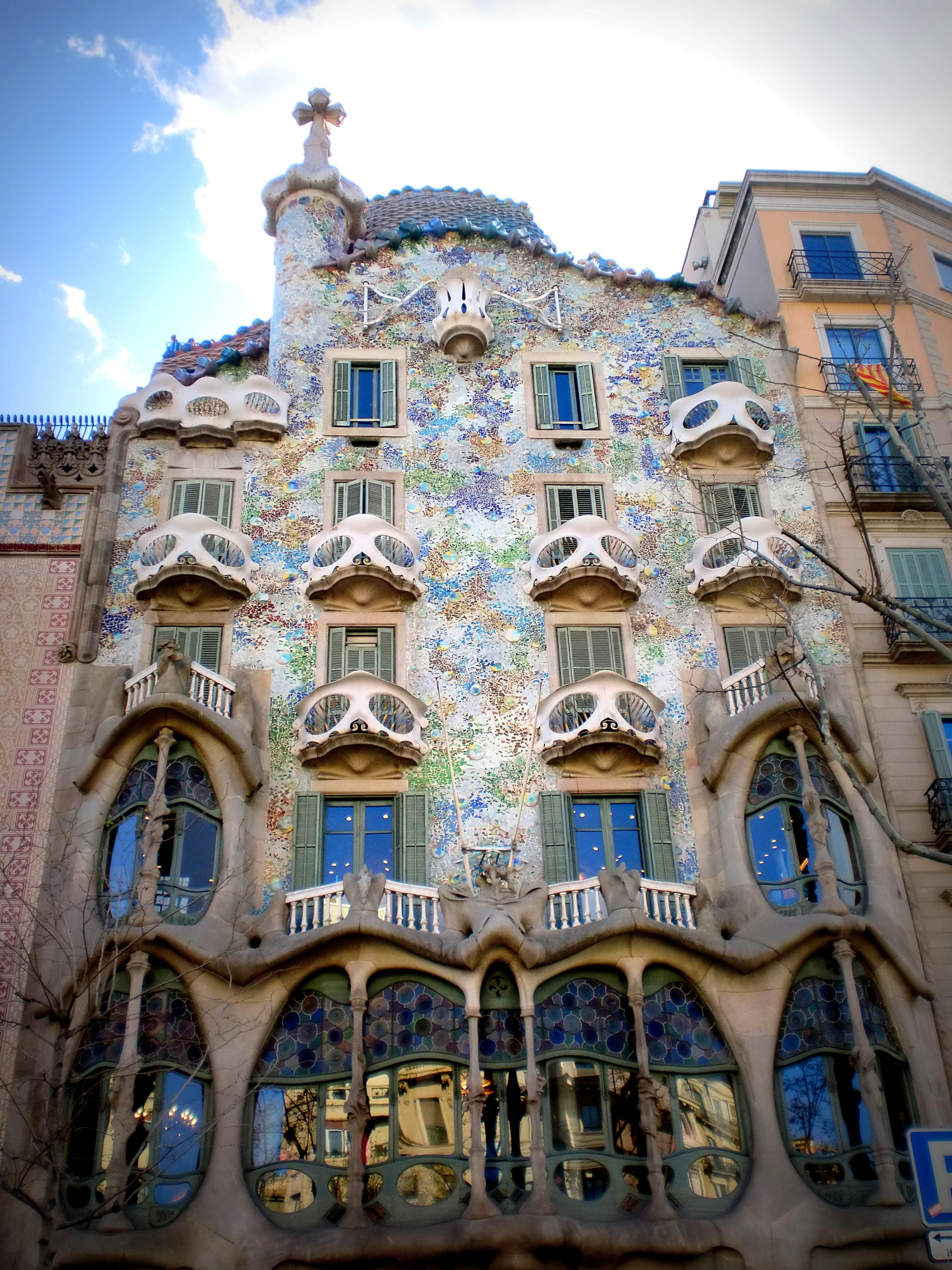 Barcelone  Episode 2  La casa Batllo  Le repre