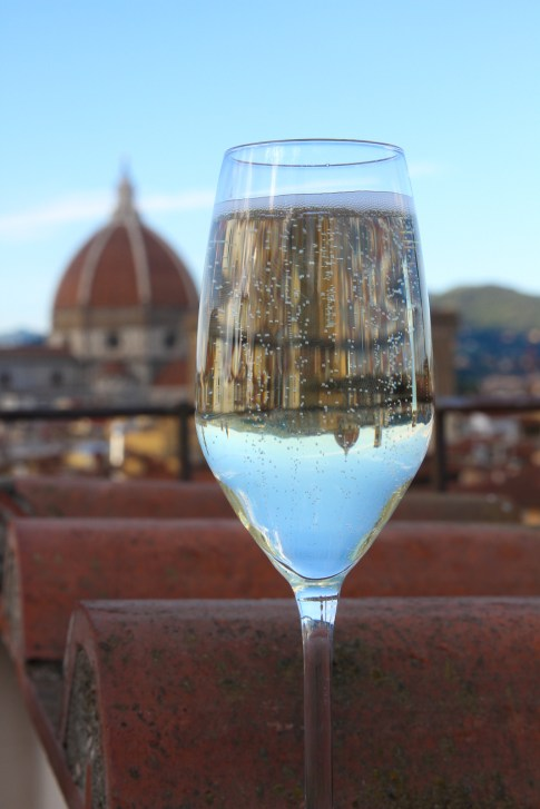 Prosecco in Florence © Robin E. H. Ove All Rights Reserved