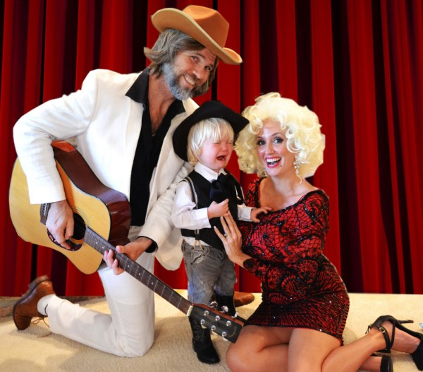 Kenny Rogers and Dolly Parton Halloween Costumes