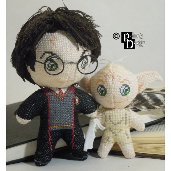 Dobby House Elf Doll 3d Cross Stitch Sewing Pattern