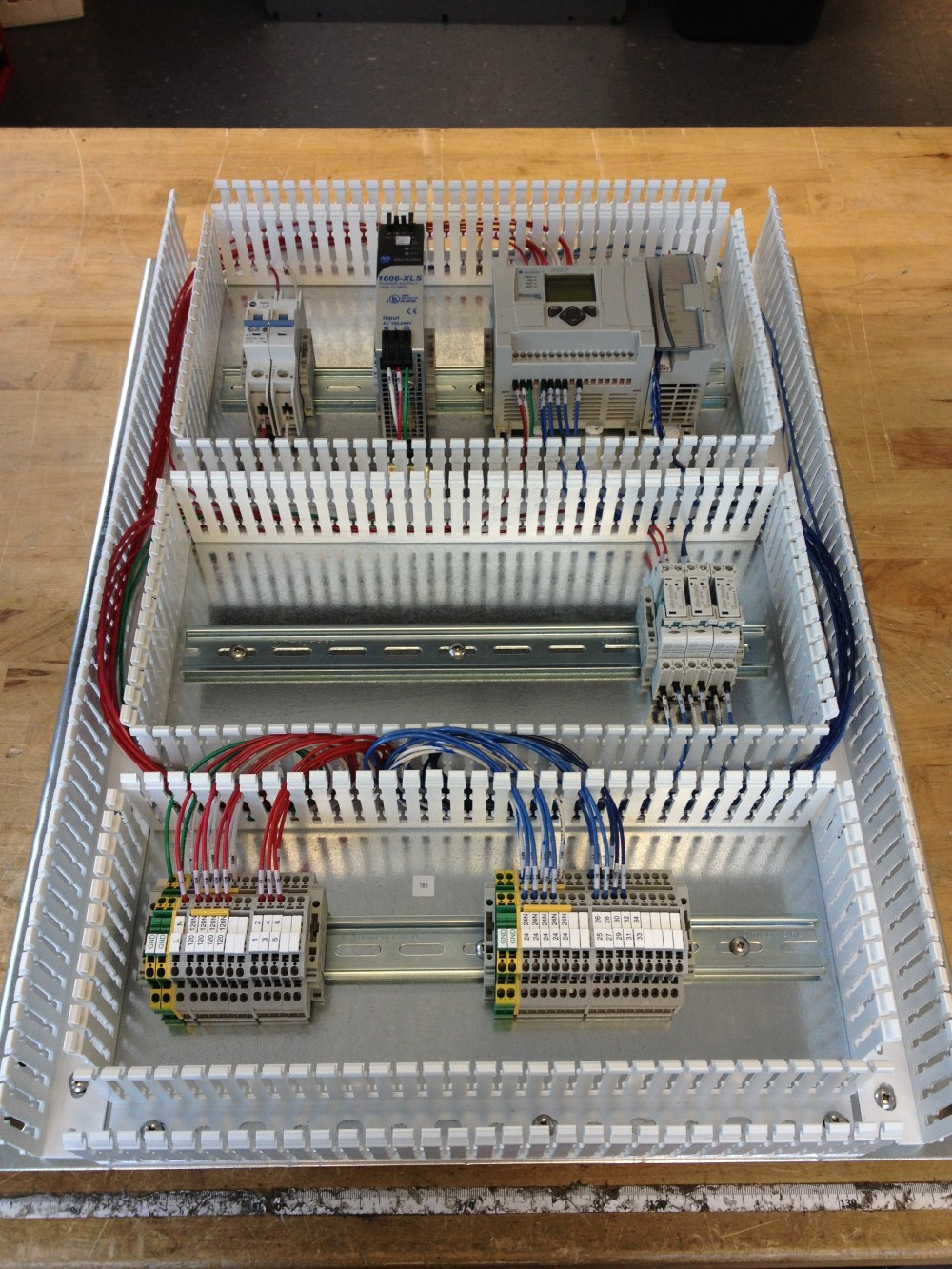 medium resolution of wired electrical panel