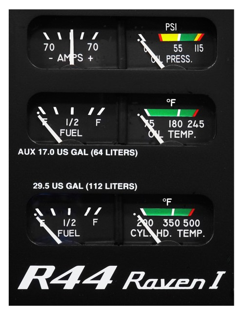 small resolution of r44 raven i gage panel