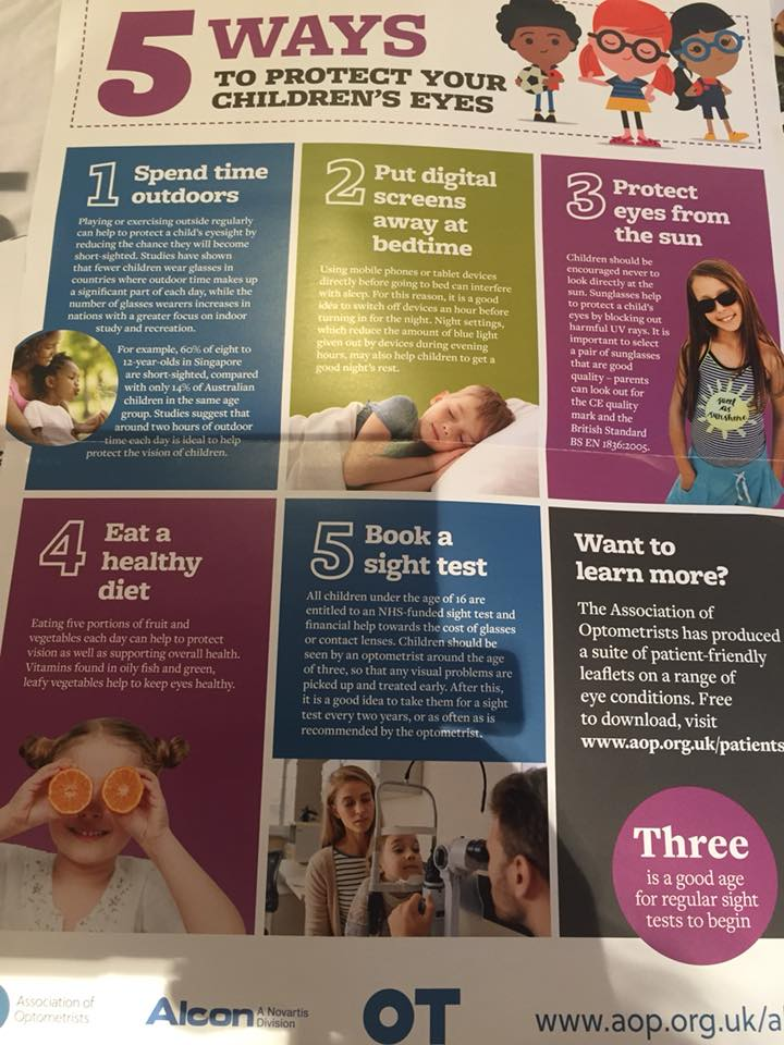 Back to school! Here are 5 ways you can help to protect your children's eyes