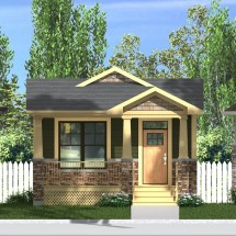 Small Craftsman Style House Plans with Front Porch