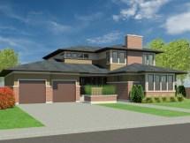 Prairie Home House Design Plans