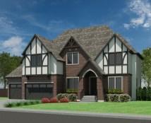 Tudor Abbey-3499 - Robinson Plans