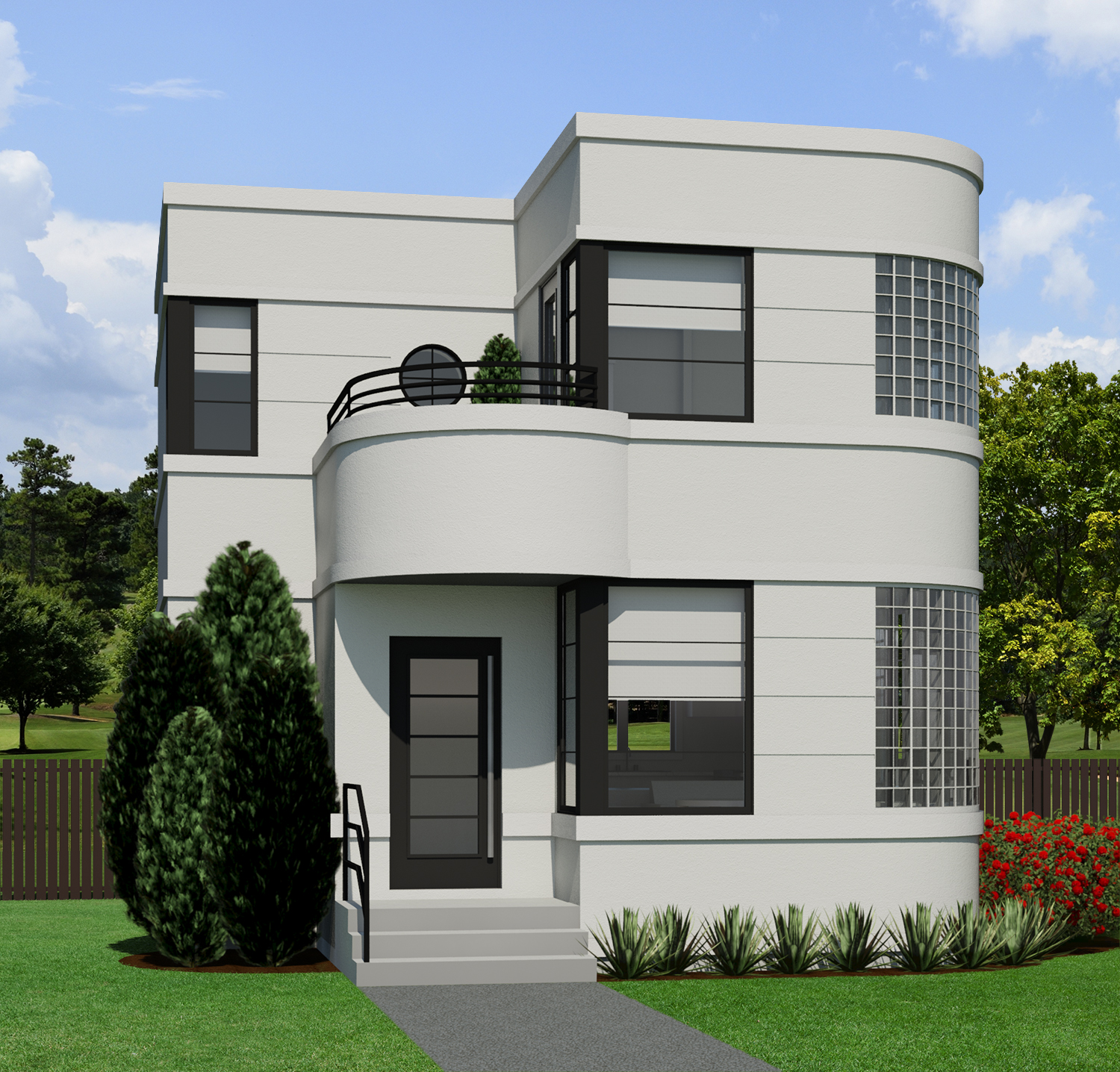 Contemporary Normandie945  Robinson Plans