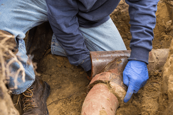 sewer line repair service by a bethlehem pa plumber