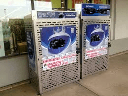 """Propane Tank Exchange Rip Off - Would you rather pay $15 to have your tank filled to 20 pounds at Robinsons or pay someone """"cagey"""" $15 to swap your tank and only get 15 pounds of propane?"""
