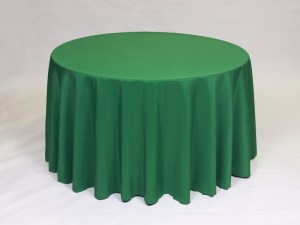 Moss tablecloth, linen and napkin rentals in Hudson and Framingham, MA
