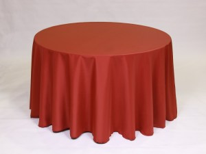 Terra Cotta tablecloth, linen and napkin rentals in Hudson and Framingham, MA