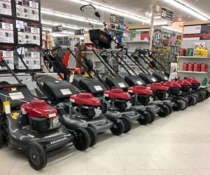 Honda lawn mowers in stock in Framingham, MA