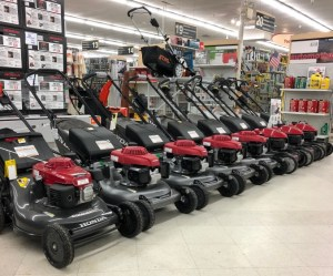Honda lawn mowers in stock in Framingham, MA
