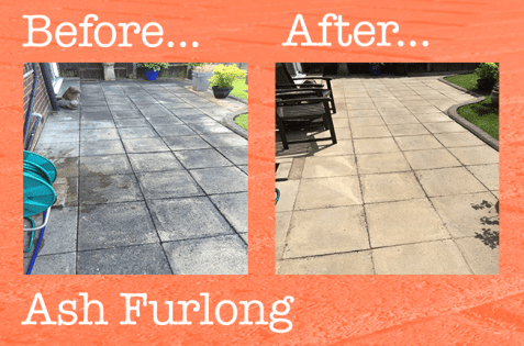 Patio cleaning Ash Furlong