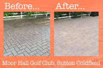 Driveway cleaning sutton coldfield