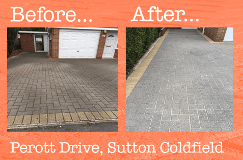 Driveway cleaning sutton coldfield 2