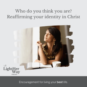 woman thinking about her identity