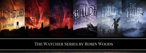 The Watcher series by Robin Woods