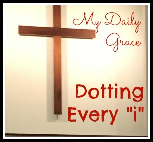 "Dotting Every ""i"""