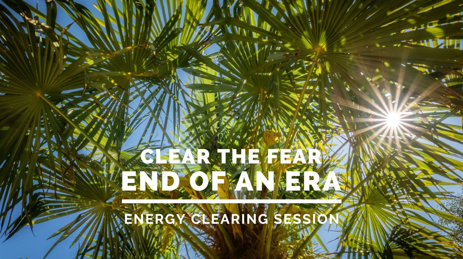 Endings energy clearing