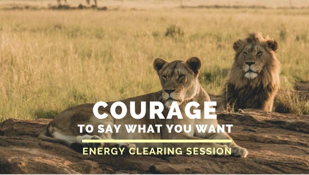 Courage - Lion Spirit Animal