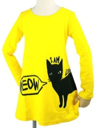 meow-dress-yelo-front
