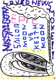 WATARU KOMACHI × ROB KIDNEY 'LIVE ZINE MAKING'