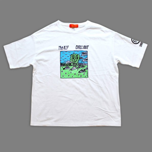 Rob Kidney × A STORE ROBOT/THE KLF 'CHILL OUT' T-shirt