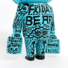 Hand painted 'Friday Bear' ⑤