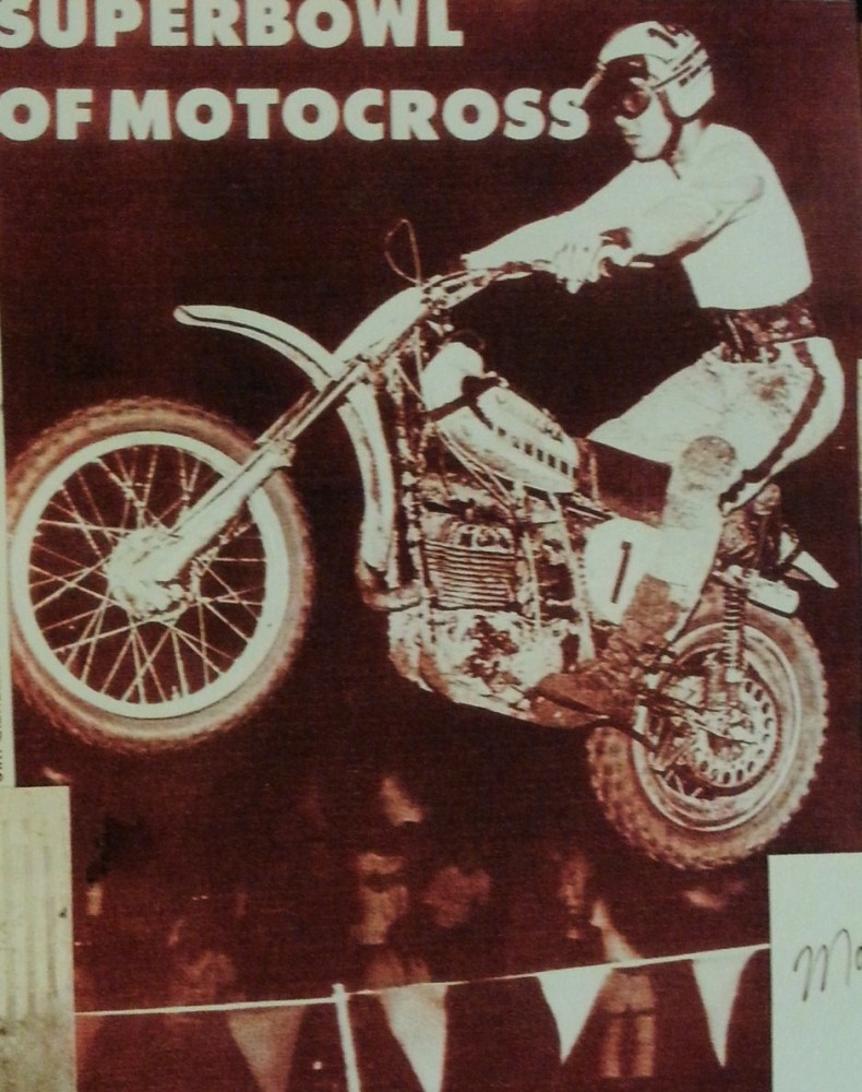 Marty Tripes and friends celebrate his 1972 Superbowl of Motocross Victory! (2/6)