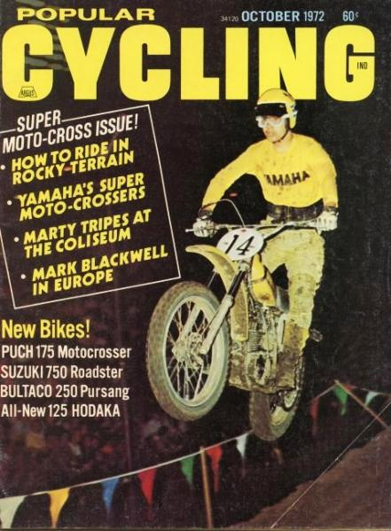 Marty Tripes and friends celebrate his 1972 Superbowl of Motocross Victory! (4/6)