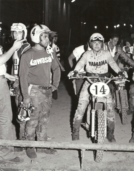 Marty Tripes and friends celebrate his 1972 Superbowl of Motocross Victory! (6/6)