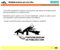 Multiplicaciones por una cifra