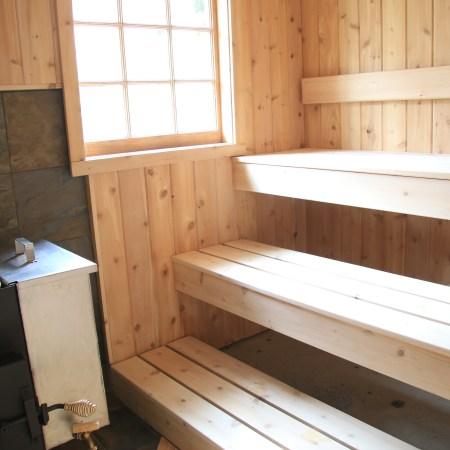 Sauna Building Class